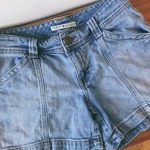 Vintage Tommy Hilfiger vintage jean shorts